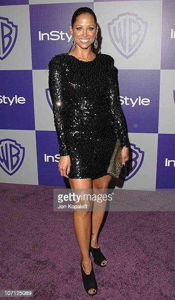 Actress Stacey Dash arrives at the Warner Brothers/InStyle Golden Globes After Party at The Beverly Hilton Hotel on January 17 2010 in Beverly Hills...