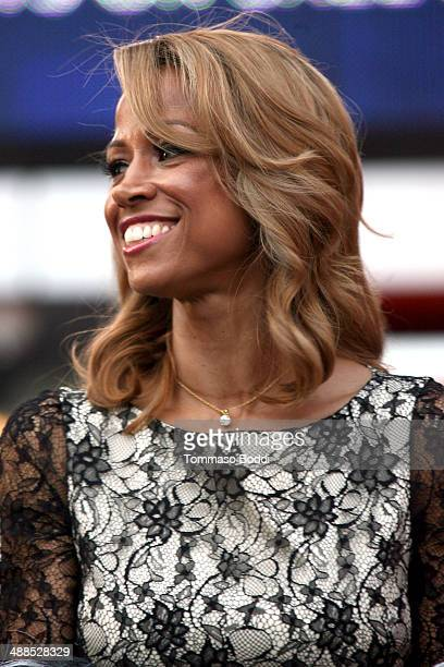 Actress Stacey Dash attends the Film Independent's PreFestival outdoor screening of 'Clueless' held at LA LIVE on May 6 2014 in Los Angeles California