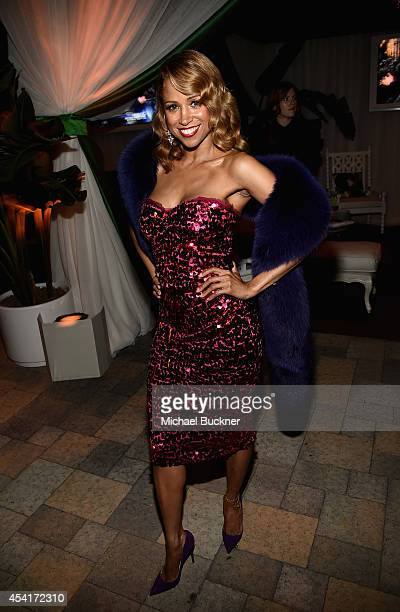 Actress Stacey Dash attends the FOX 20th Century FOX Television FX Networks and National Geographic Channel's 2014 Emmy Award Nominee Celebration at...