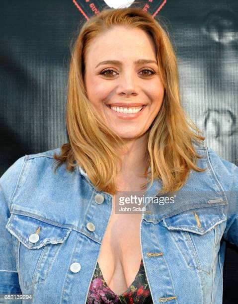 Actress Stacey Oristano attends the premiere of MarVista Entertainment's Shockwave at Laemmle's Music Hall 3 on May 11 2017 in Beverly Hills...