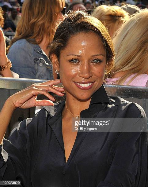 Actress Stacy Dash attends the 32nd Annual Playboy Jazz Festival at The Hollywood Bowl on June 12 2010 in Los Angeles California