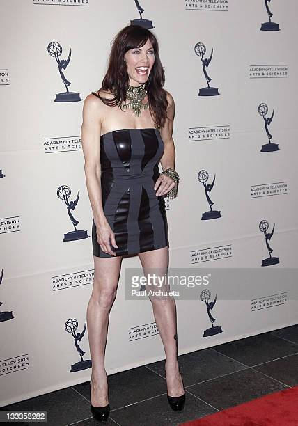 Actress Stacy Haiduk arrives at the 2010 Daytime Emmy Awards nominees cocktail reception at SLS Hotel at Beverly Hills on June 24 2010 in Los Angeles...