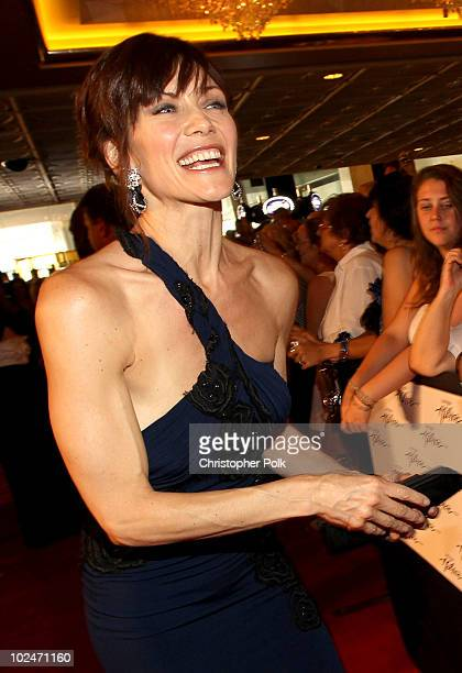 Actress Stacy Haiduk arrives at the 37th Annual Daytime Entertainment Emmy Awards held at the Las Vegas Hilton on June 27 2010 in Las Vegas Nevada