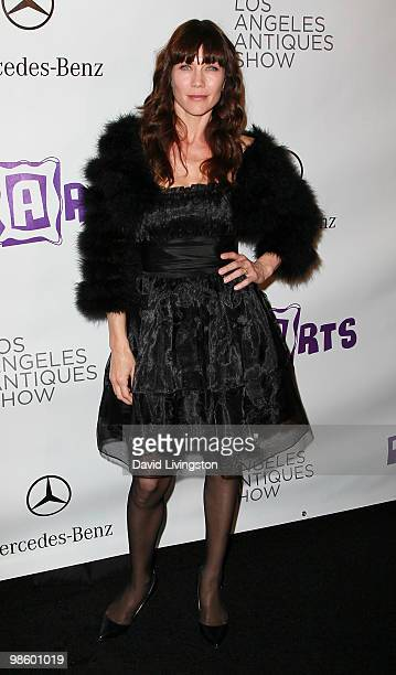 Actress Stacy Haiduk attends the 15th Annual Los Angeles Antique Show Opening Night Preview Party benefiting PS ARTS at Barker Hanger on April 21...