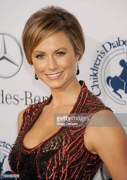 Actress Stacy Keibler arrives at the 26th Anniversary Carousel Of Hope Ball presented by MercedesBenz at The Beverly Hilton Hotel on October 20 2012...