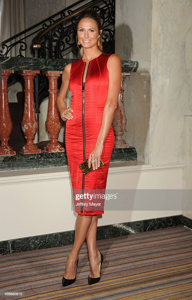 Actress Stacy Keibler arrives at the The Independent School Alliance For Minority Affairs Impact Awards Dinner at Four Seasons Hotel Los Angeles at Beverly Hills on March 17, 2015 in Los Angeles, California.