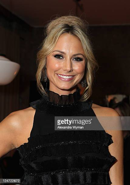 Actress Stacy Keibler attends 'A Dangerous Method' party hosted by GREY GOOSE Vodka at Soho House Pop Up Club during the 2011 Toronto International...