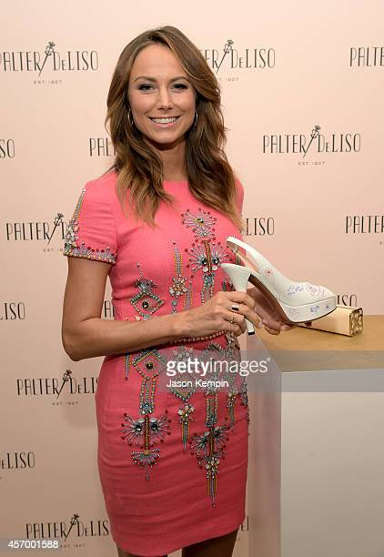 Actress Stacy Keibler attends the 2014 Variety Power of Women presented by Lifetime at Beverly Wilshire Four Seasons Hotel on October 10 2014 in Los...