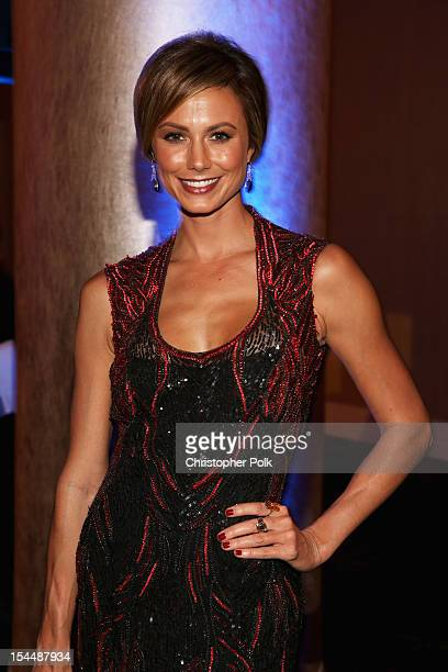 Actress Stacy Keibler attends the 26th Anniversary Carousel Of Hope Ball presented by MercedesBenz at The Beverly Hilton Hotel on October 20 2012 in...