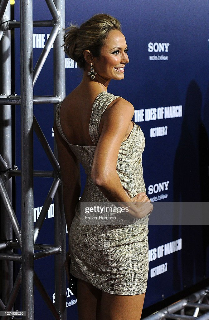 Actress Stacy Keibler attends the Premiere of Columbia Pictures' 'The Ides Of March' held at the Academy of Motion Picture Arts and Sciences' Samuel Goldwyn Theatre on September 27, 2011 in Beverly Hills, California.