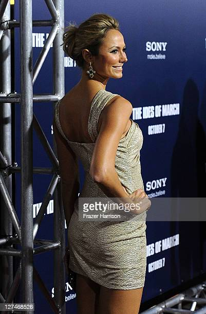Actress Stacy Keibler attends the Premiere of Columbia Pictures' 'The Ides Of March' held at the Academy of Motion Picture Arts and Sciences' Samuel...