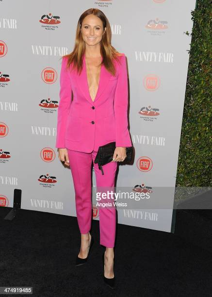 Actress Stacy Keibler attends the Vanity Fair Campaign Hollywood 'Young Hollywood' party sponsored by Fiat at No Vacancy on February 25 2014 in Los...