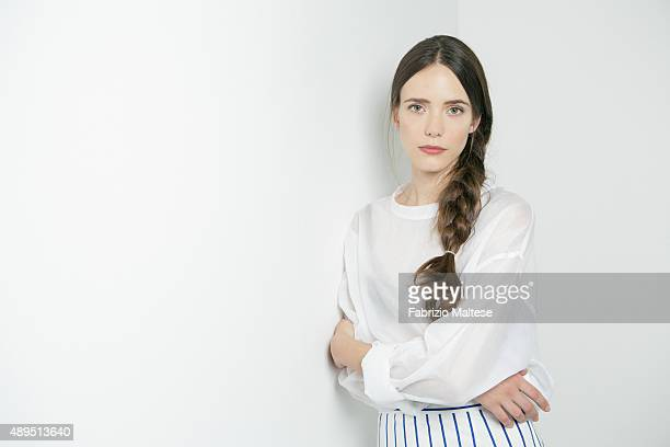 Actress Stacy Martin is photographed for The Hollywood Reporter on September 5 2015 in Venice Italy