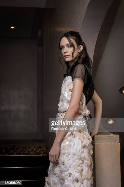 Actress Stacy Martin poses for a portrait on September 7 2019 in Venice Italy