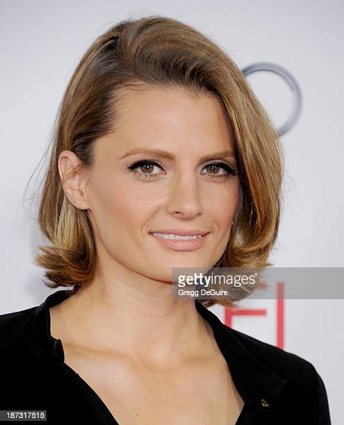 Actress Stana Katic arrives at AFI FEST 2013 Opening Night Gala premiere of Saving Mr Banks at TCL Chinese Theatre on November 7 2013 in Hollywood...