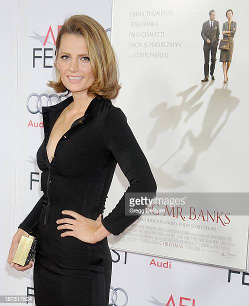 Actress Stana Katic arrives at AFI FEST 2013 Opening Night Gala premiere of 'Saving Mr Banks' at TCL Chinese Theatre on November 7 2013 in Hollywood...