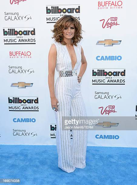 Actress Stana Katic arrives at the 2013 Billboard Music Awards at the MGM Grand Garden Arena on May 19 2013 in Las Vegas Nevada