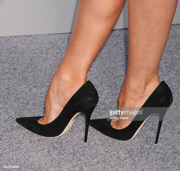 Actress Stana Katic at the Los Angeles premiere of 'Elysium' at Regency Village Theatre on August 7 2013 in Westwood California