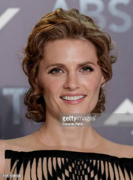 "Actress Stana Katic attends the ""Absentia"" premiere at Beatriz building on March 20, 2019 in Madrid, Spain."
