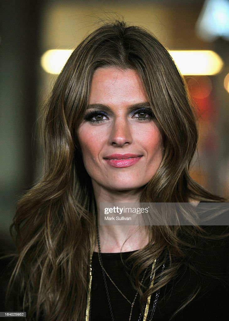 Actress Stana Katic attends the Los Angeles premiere of HBO's 'Game Of Thrones' Season 3 at TCL Chinese Theatre on March 18, 2013 in Hollywood, California.