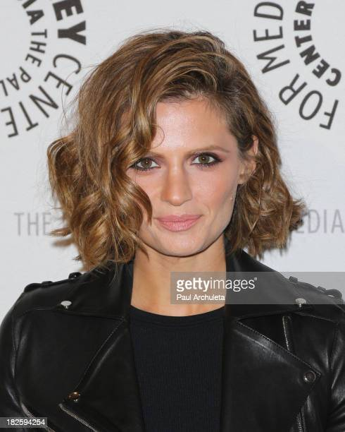 Actress Stana Katic attends the screening of ABC's Castle at The Paley Center for Media on September 30 2013 in Beverly Hills California