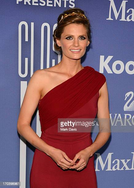 Actress Stana Katic attends Women In Film's 2013 Crystal Lucy Awards at The Beverly Hilton Hotel on June 12 2013 in Beverly Hills California