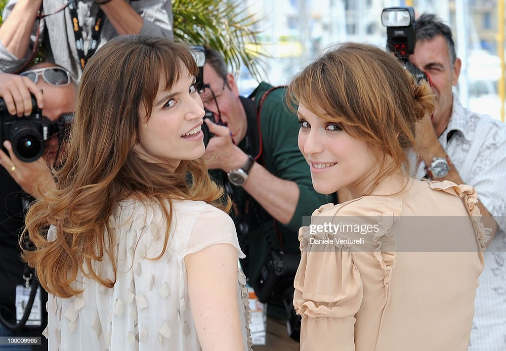 Actress Stefania Montorsi and Giorgio Colangeli attend the 'Our Life' Photo Call held at the Palais des Festivals during the 63rd Annual International Cannes Film Festival on May 20, 2010 in Cannes, France.