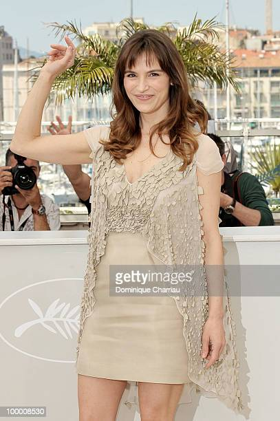 Actress Stefania Montorsi attends the 'Our Life' Photo Call held at the Palais des Festivals during the 63rd Annual International Cannes Film...