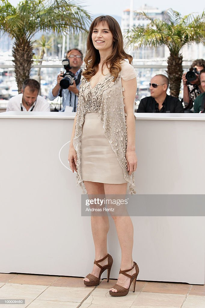 Actress Stefania Montorsi attends the 'Our Life' Photocall at the Palais des Festivals during the 63rd Annual Cannes Film Festival on May 20, 2010 in Cannes, France.