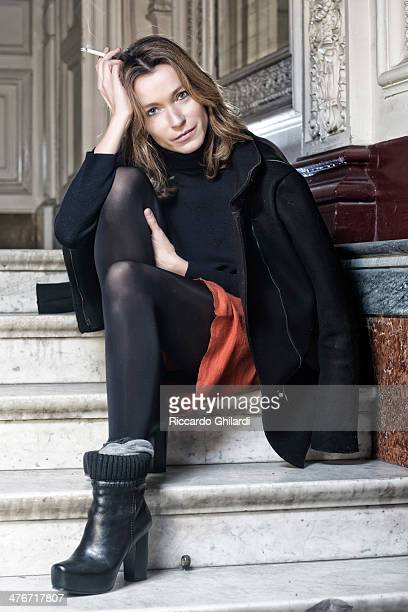 Actress Stefania Rocca is photographed for Self Assignment on May 13 2013 in Venice Italy