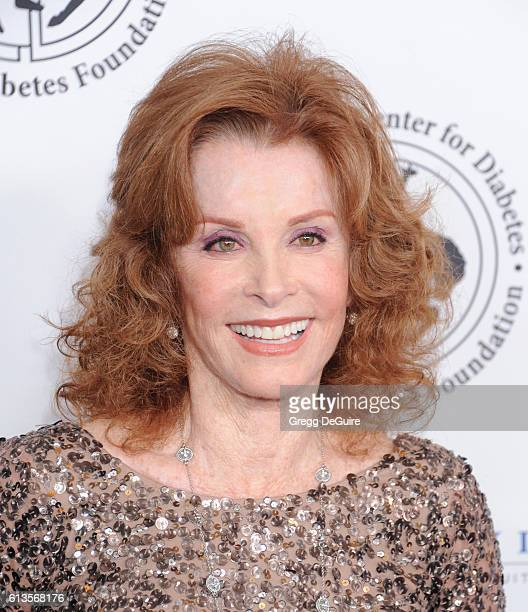 Actress Stefanie Powers arrives at the 2016 Carousel Of Hope Ball at The Beverly Hilton Hotel on October 8 2016 in Beverly Hills California
