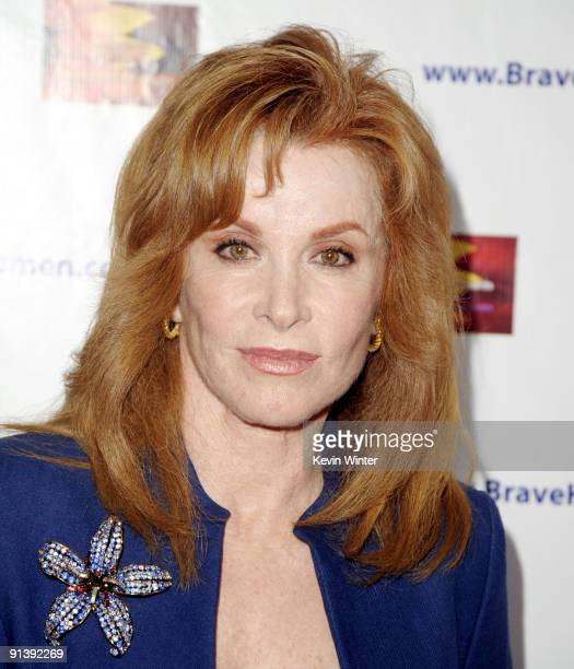 Actress Stefanie Powers arrives at the BraveHeart Awards for Brave Hearts at The Westin Hotel LAX on October 3 2009 in Los Angeles California