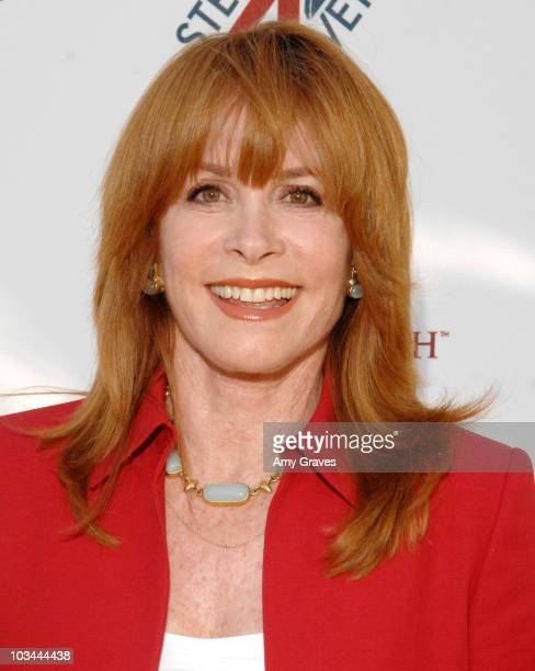 Actress Stefanie Powers attends Hollywoods Salute to Veterans on Armed Forces Day Honor Wayne Newton and Hollywoods USO Entertainers onMay 17 2008 at...