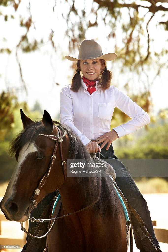 At home With Stefanie Powers : News Photo