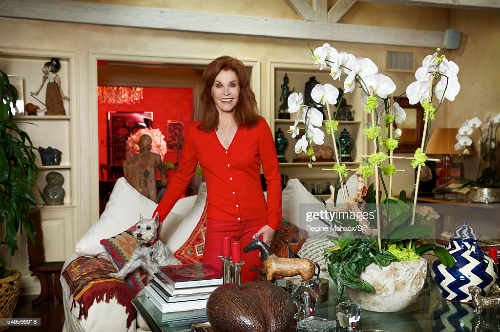 Stefanie Powers At Home Shoot