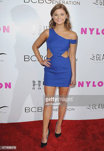 Actress Stefanie Scott arrives at NYLON Magazine And BCBGeneration Annual May Young Hollywood Issue Party Hosted By May Cover Star Dakota Fanning at...