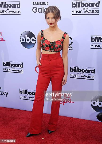 Actress Stefanie Scott arrives at the 2015 Billboard Music Awards at MGM Garden Arena on May 17, 2015 in Las Vegas, Nevada.