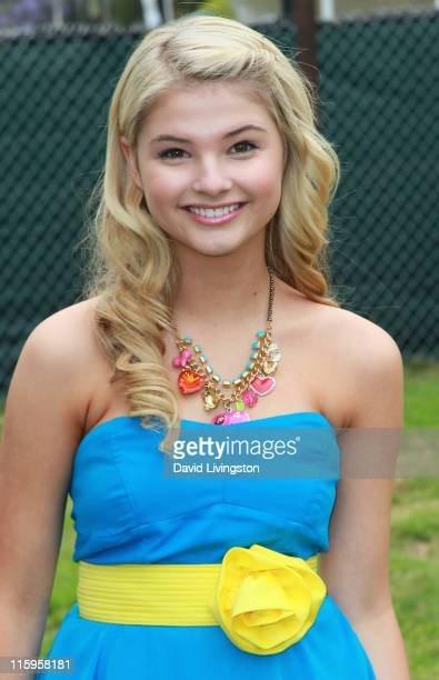 Actress Stefanie Scott attends the Elizabeth Glaser Pediatric AIDS Foundation's 'A Time For Heroes Event' at Wadsworth Theater on the Veterans...