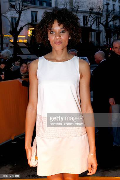 Actress Stefi Celma attends 'Les Profs' Movie Premiere at Le Grand Rex on April 9, 2013 in Paris, France.