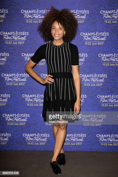 Actress Stefi Celma attends the 6th 'ChampsElysees Film Festival' at Cinema Gaumont Marignan on June 15 2017 in Paris France