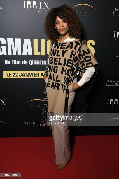 Actress Stefi Celma attends the Pygmalionnes premiere at Forum des Images on November 12 2019 in Paris France