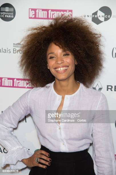 Actress Stefi Celma attends the 'Trophees Du Film Francais' 24th Ceremony at Palais Brongniart on February 2 2017 in Paris France