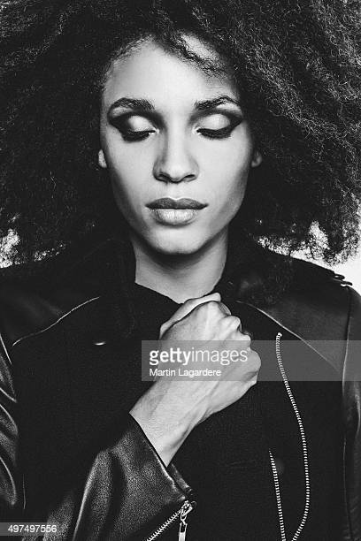 Actress Stefi Celma is photographed for Self Assignment on October 5 2015 in Paris France