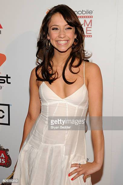 Actress Stella Maeve arrives at the premiere of Harold at the 62nd and Broadway Cinema on April 30 2008 in New York City