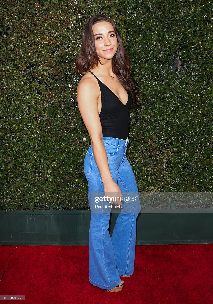 Actress Stella Maeve attends the 13th Annual Stuart House Benefit presented by John Varvatos at John Varvatos on April 17, 2016 in Los Angeles, California.