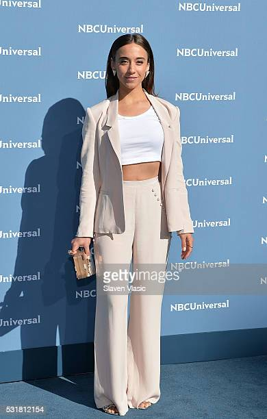 Actress Stella Maeve attends the NBCUniversal 2016 Upfront Presentation on May 16 2016 in New York New York
