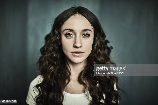 Actress Stella Maeve of 'The Magicians' poses for a portrait in the NBCUniversal Press Tour portrait studio at The Langham Huntington Pasadena on...