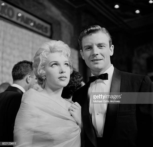 Actress Stella Stevens and actor Grant Williams attend an event in Los AngelesCA