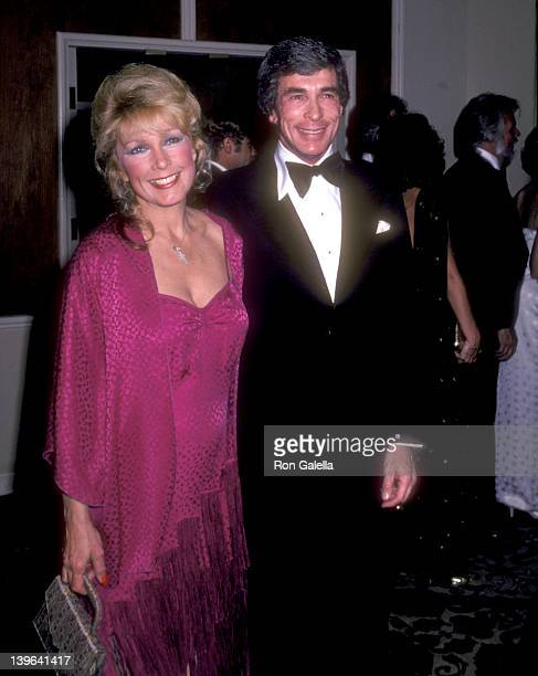 Actress Stella Stevens and guest Ron Platt attend A Gala Evening in Monaco to Benefit the Dubnoff Center for Child Development on April 24 1981 at...