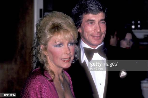 "Actress Stella Stevens and guest Ron Platt attend ""A Gala Evening in Monaco"" to Benefit the Dubnoff Center for Child Development on April 24, 1981 at..."
